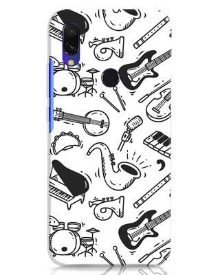 Shop Music Instruments Xiaomi Redmi 7 Mobile Cover-Front