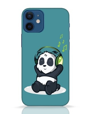 Shop Music Panda iPhone 12 Mini Mobile Cover-Front