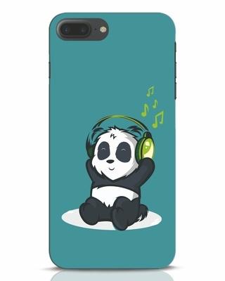 Shop Music Panda iPhone 7 Plus Mobile Cover-Front