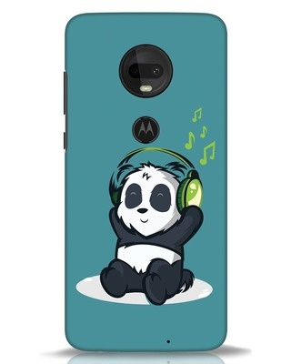 Shop Music Panda Moto G7 Mobile Cover-Front