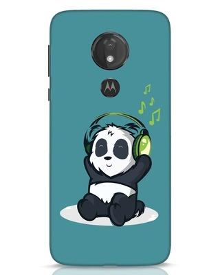 Shop Music Panda Moto G7 Power Mobile Cover-Front