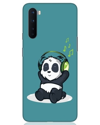 Shop Music Panda OnePlus Nord Mobile Cover-Front