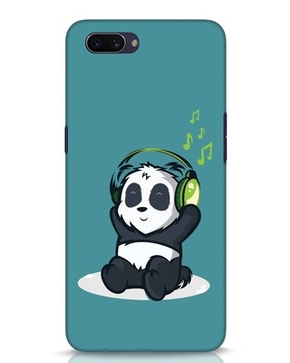 Shop Music Panda Oppo A3S Mobile Cover-Front