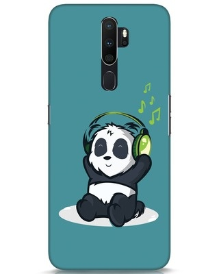 Shop Music Panda Oppo A5 2020 Mobile Cover-Front