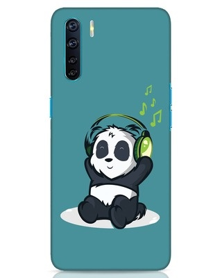 Shop Music Panda Oppo F15 Mobile Cover-Front