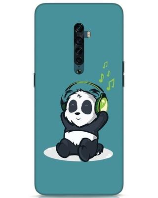 Shop Music Panda Oppo Reno 2 Mobile Cover-Front