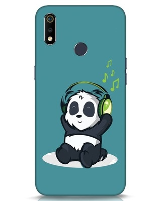 Shop Music Panda Realme 3i Mobile Cover-Front