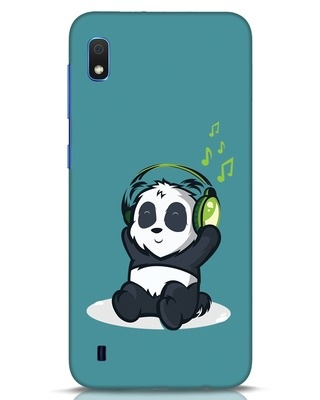 Shop Music Panda Samsung Galaxy A10 Mobile Cover-Front