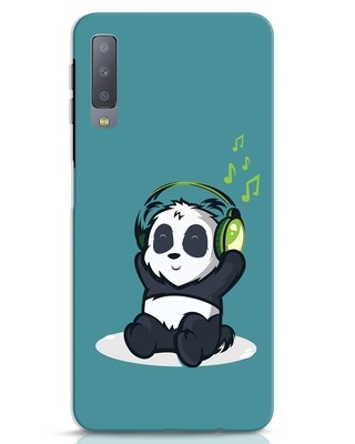 Shop Music Panda Samsung Galaxy A7 Mobile Cover-Front