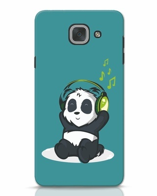 Shop Music Panda Samsung Galaxy J7 Max Mobile Cover-Front