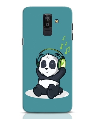 Shop Music Panda Samsung Galaxy J8 Mobile Cover-Front