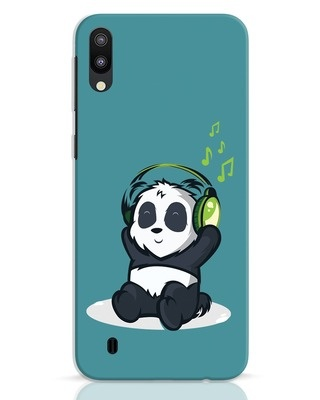 Shop Music Panda Samsung Galaxy M10 Mobile Cover-Front