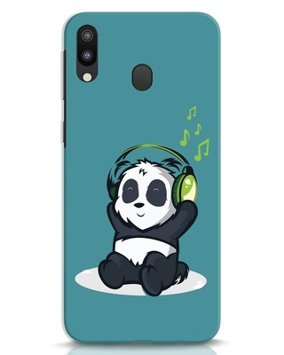 Shop Music Panda Samsung Galaxy M20 Mobile Cover-Front