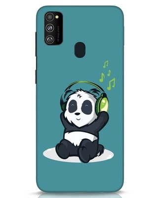 Shop Music Panda Samsung Galaxy M30s Mobile Cover-Front