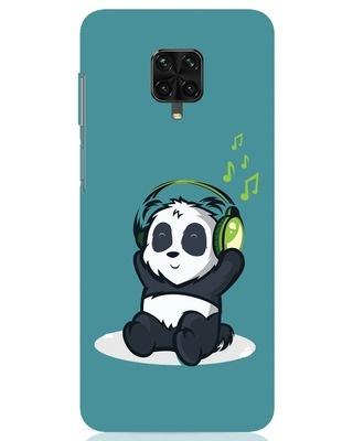 Shop Music Panda Xiaomi Poco M2 pro Mobile Cover-Front