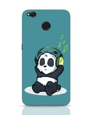 Shop Music Panda Xiaomi Redmi 4 Mobile Cover-Front