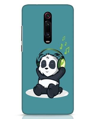 Shop Music Panda Xiaomi Redmi K20 Mobile Cover-Front