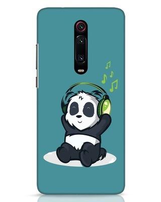 Shop Music Panda Xiaomi Redmi K20 Pro Mobile Cover-Front
