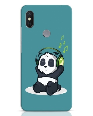 Shop Music Panda Xiaomi Redmi Y2 Mobile Cover-Front