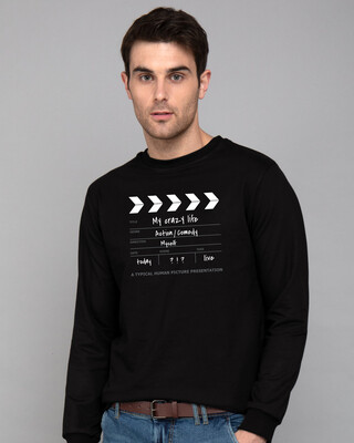 Shop My Life As A Movie Fleece Sweaters-Front