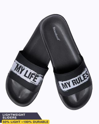 Shop My Life Rule Lightweight Men's Slider-Front
