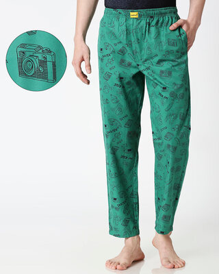Shop My Ride Men's Pyjama-Front