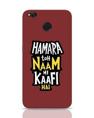 Shop Naam Hi Kaafi Hai Xiaomi Redmi 4 Mobile Cover-Front