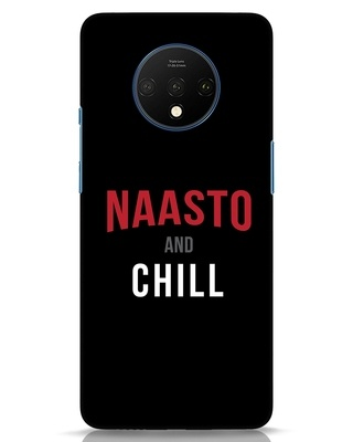 Shop Naasto And Chill OnePlus 7T Mobile Cover-Front