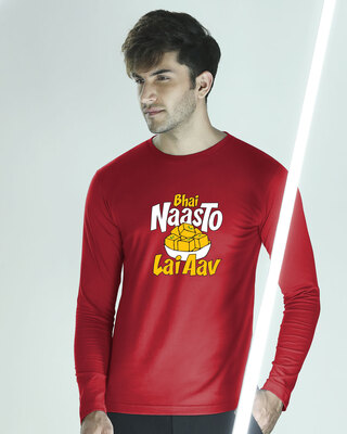 Shop Naasto Full Sleeve T-Shirt-Front