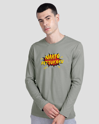 Shop Naato Pettukoku Full Sleeve T-Shirt-Front