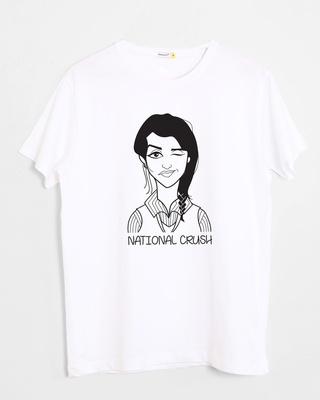 Buy National Crush Half Sleeve T-Shirt Online India @ Bewakoof.com