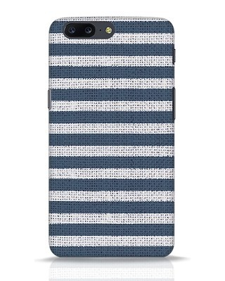 Shop Nautical Stripes OnePlus 5 Mobile Cover-Front
