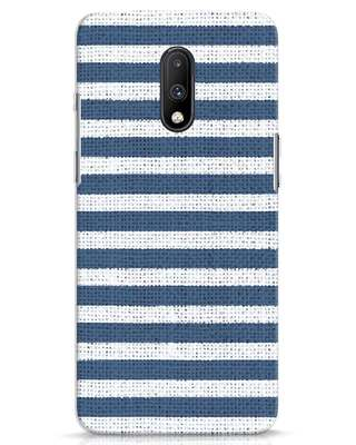 Shop Nautical Stripes OnePlus 7 Mobile Cover-Front