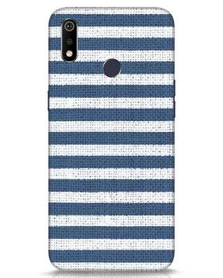Shop Nautical Stripes Realme 3i Mobile Cover-Front