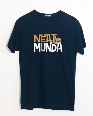 Buy Neat Munda Half Sleeve T-Shirt Online India @ Bewakoof.com