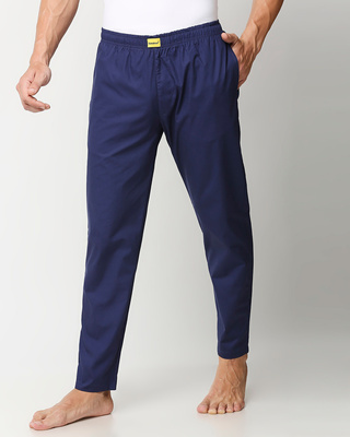 Shop Nebula Blue Pyjamas-Front
