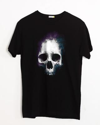 Buy Nebula Skull Half Sleeve T-Shirt Online India @ Bewakoof.com