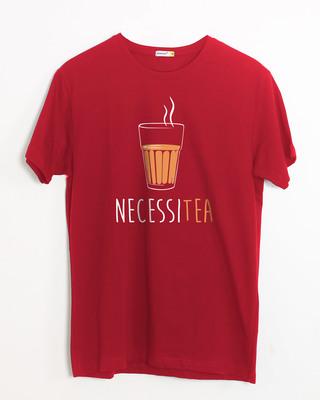 Buy Necessitea Half Sleeve T-Shirt Online India @ Bewakoof.com