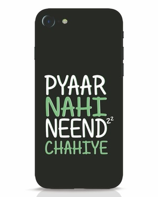 Shop Neend Chahiye iPhone 7 Mobile Cover-Front