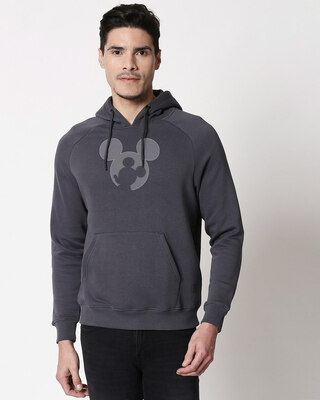 Shop Negative Mouse Hoodie Sweatshirt-Front