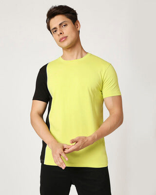 Shop Arcade Green Cut and Sew T-Shirt-Front