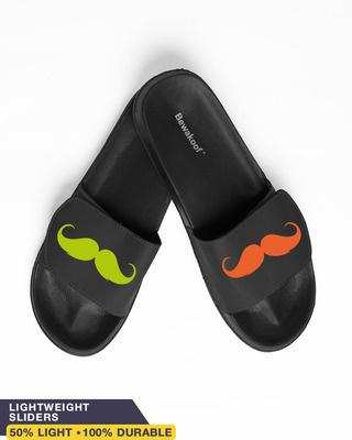 Shop Neo Mooch Lightweight Adjustable Strap Men Slider-Front