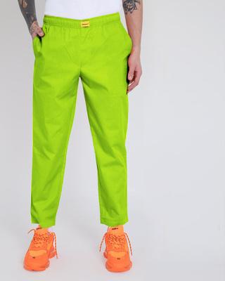 Shop Neon Green Pyjama-Front