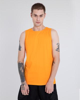 Shop Neon Orange Vest-Front