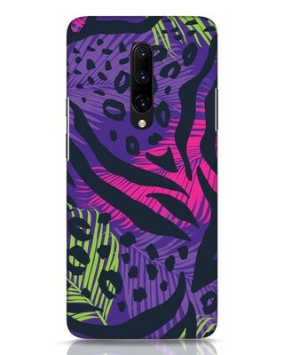 Shop Neon Tropical OnePlus 7 Pro Mobile Cover-Front