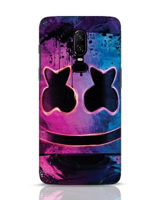 Shop Neonpaintmellow OnePlus 6 Mobile Cover-Front
