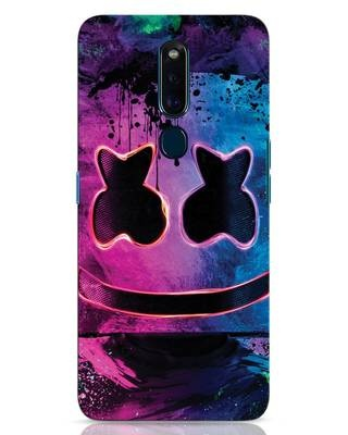 Shop Neonpaintmellow Oppo F11 Pro Mobile Cover-Front