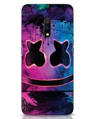 Shop Neonpaintmellow Realme X Mobile Cover-Front