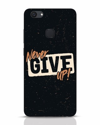 Shop Never Give Up Vivo V7 Plus Mobile Cover-Front