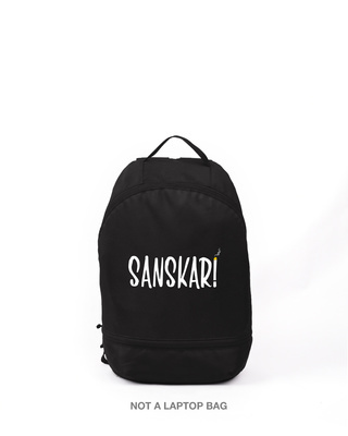 Shop New Sanskari Printed Small Backpack-Front